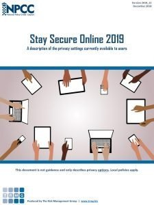 Stay Secure Online 2019
