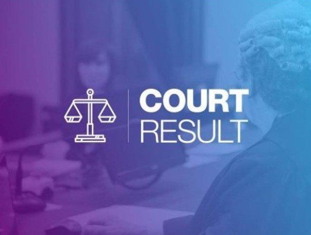 court result image
